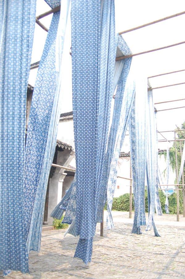 Blau und Weiß lizenzfreies stockfoto