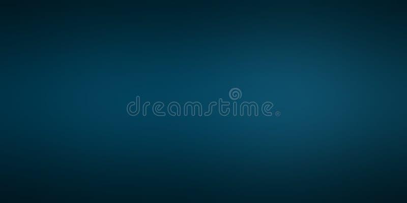 Blau unscharfe schattierte Hintergrundtapete klare Farbvektorillustration lizenzfreie abbildung