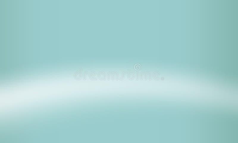 Blau unscharfe schattierte Hintergrundtapete klare Farbvektorillustration vektor abbildung