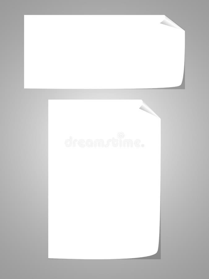 Blau zerrissenes Papier auf Transparenzhintergrund stockbilder