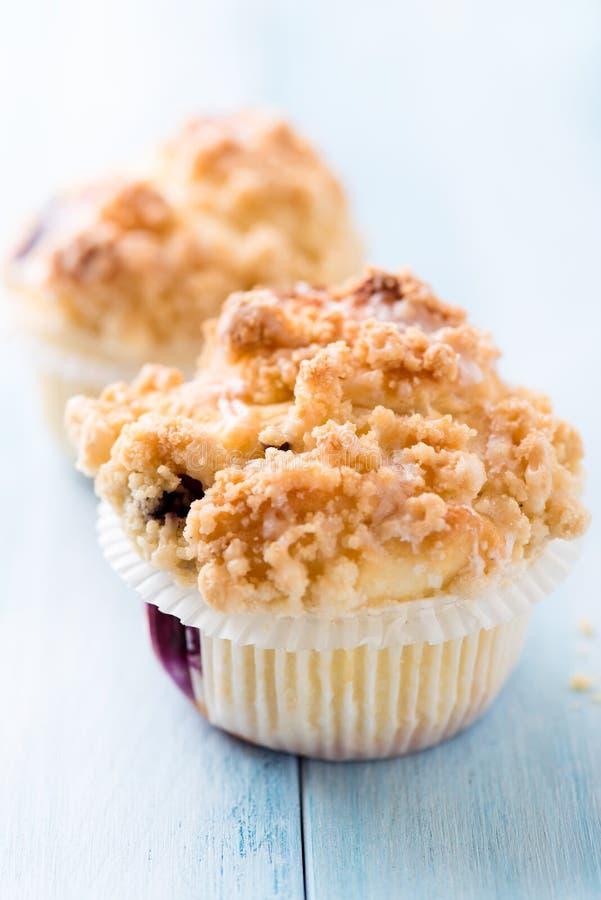 Blaubeere-Muffins lizenzfreies stockfoto