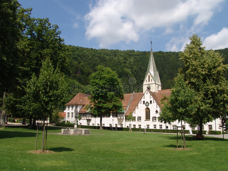 Download Blaubeuren Abbey stock photo. Image of school, church, abbey - 518088