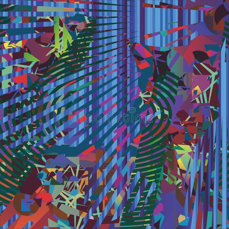 Blaue Abstraktionsfliege lizenzfreie stockfotografie