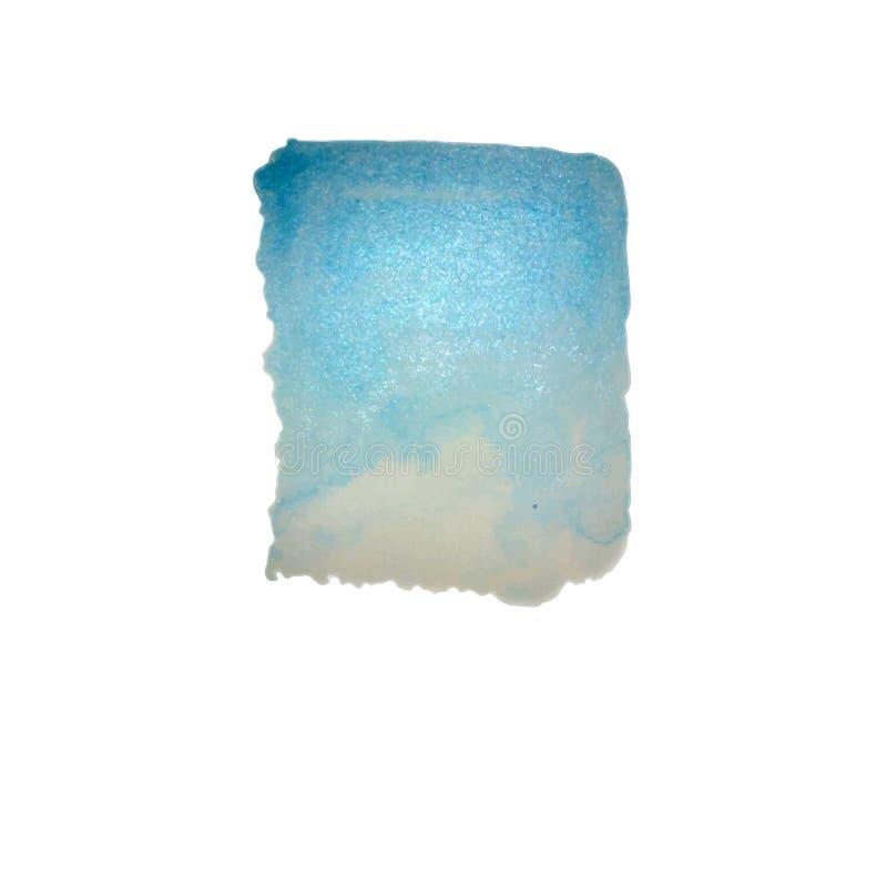 Blaue Aquarellbeschaffenheit stockfotos