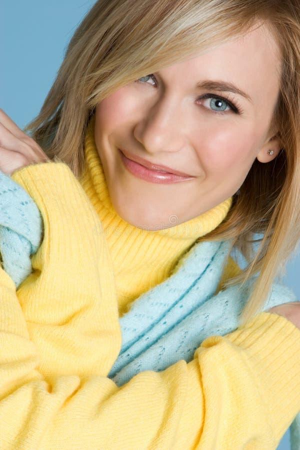 Blaue Augen-Frau lizenzfreies stockfoto