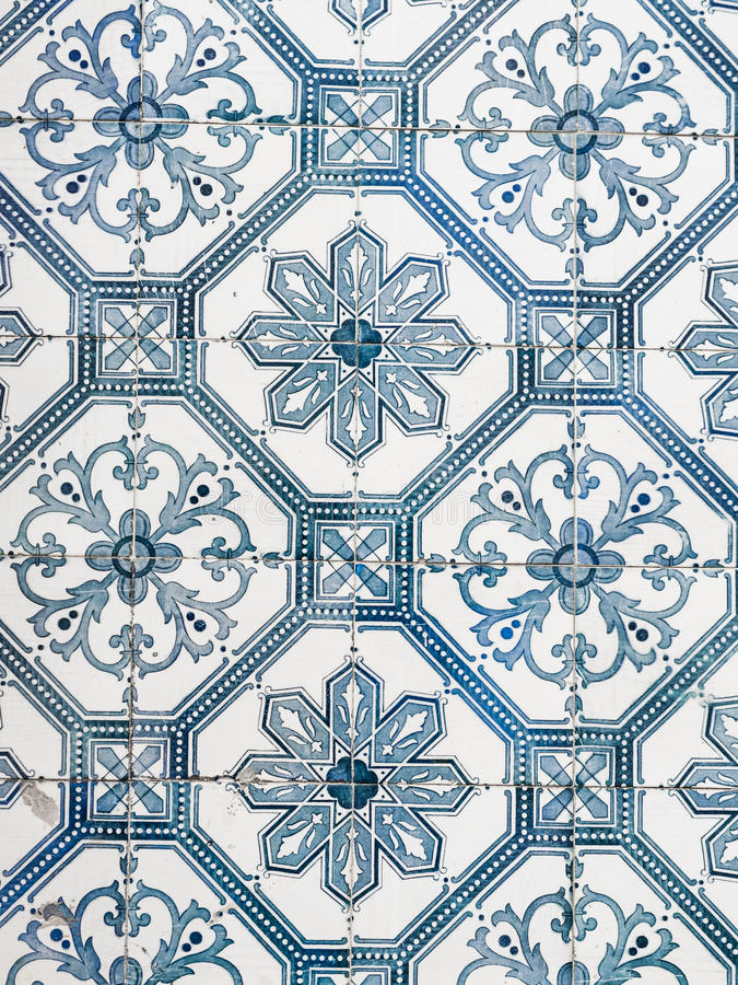 blaue azulejos alte fliesen in der alten stadt von. Black Bedroom Furniture Sets. Home Design Ideas