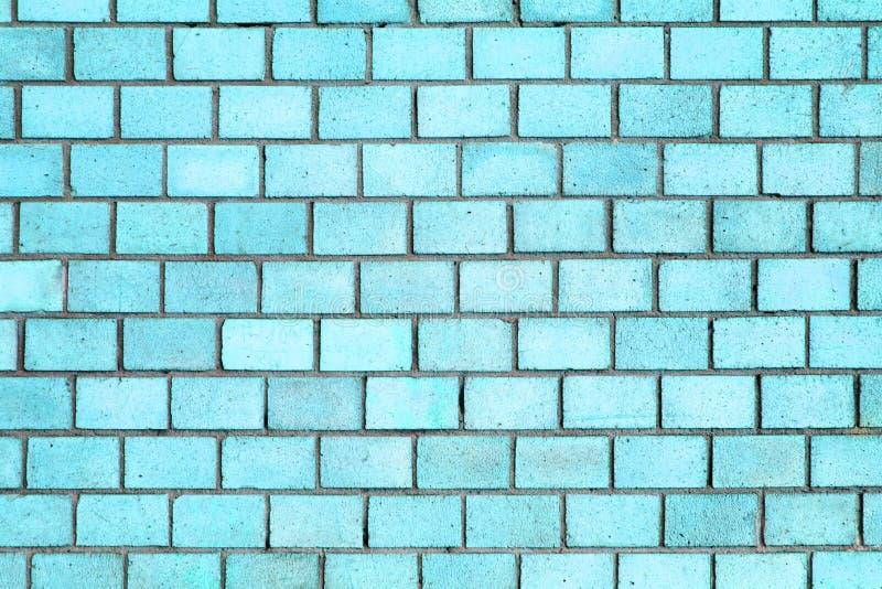 Blaue Backsteinmauerbeschaffenheit, Farbhintergrundstein lizenzfreie stockfotos