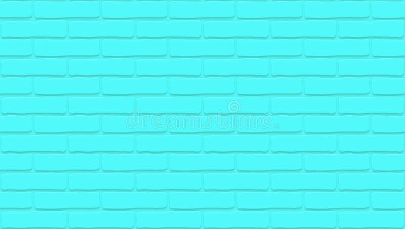 Blaue Backsteinmauerbeschaffenheit Leerer Hintergrund Weinlese legen Steine in den Weg Raumdesigninnenraum Hintergrund f?r Caf? lizenzfreie abbildung