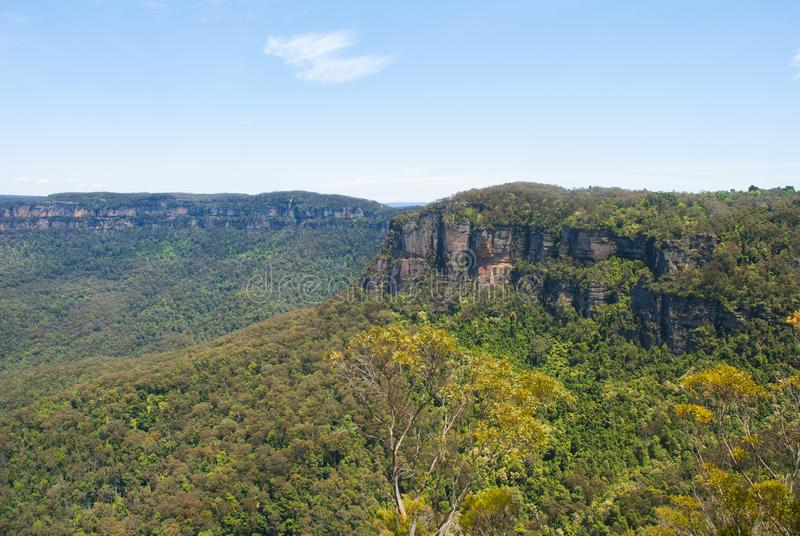 Blaue Berge Australiens NSW lizenzfreie stockbilder