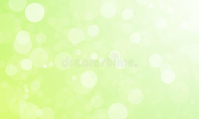 Blaue bokeh Zusammenfassungshintergründe stock abbildung