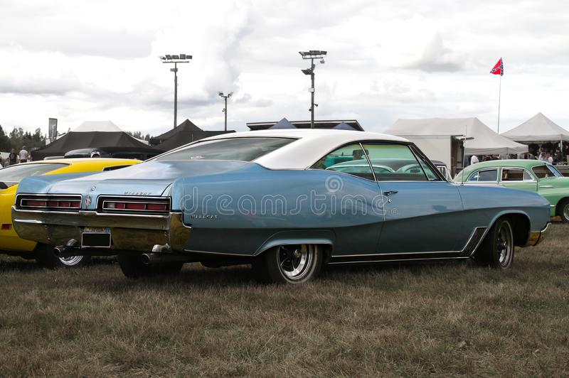 Blaue Buick-Wildkatze stockbilder