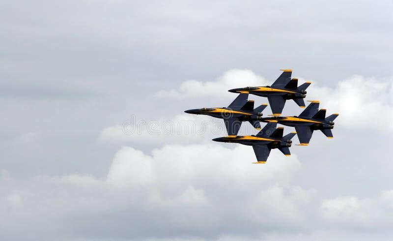 Blaue Engel der US-Marine stockfotos