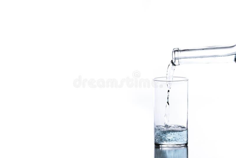 Blaue Flüssigkeit stockbilder