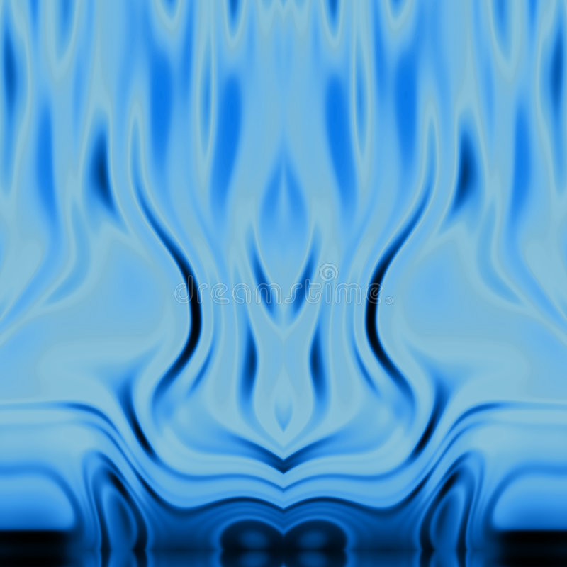 Blaue Flammen BG stock abbildung