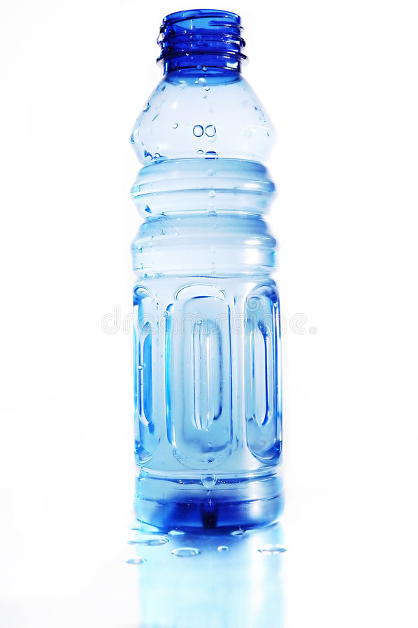 Blaue Flasche lizenzfreie stockfotografie