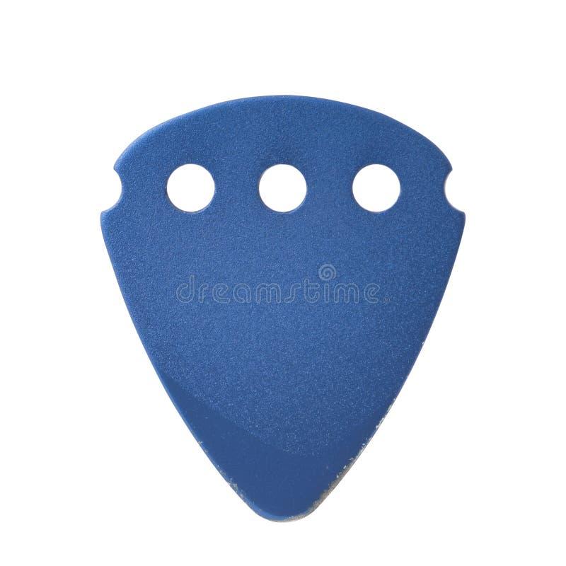 Blaue Gitarren-Auswahl lizenzfreies stockfoto