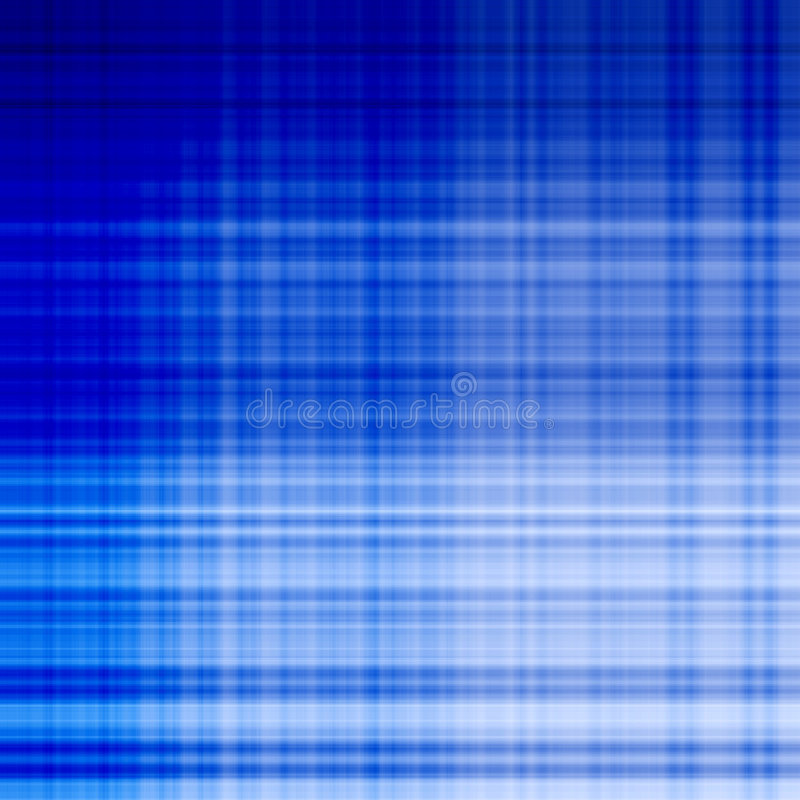 Blaue Gitterlinie Muster stock abbildung