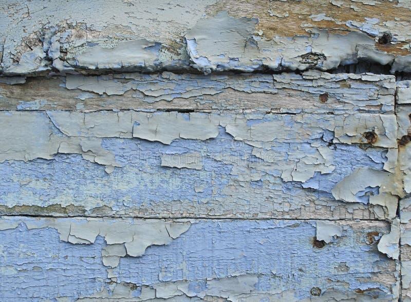 Blaue grunge Planken stockbild