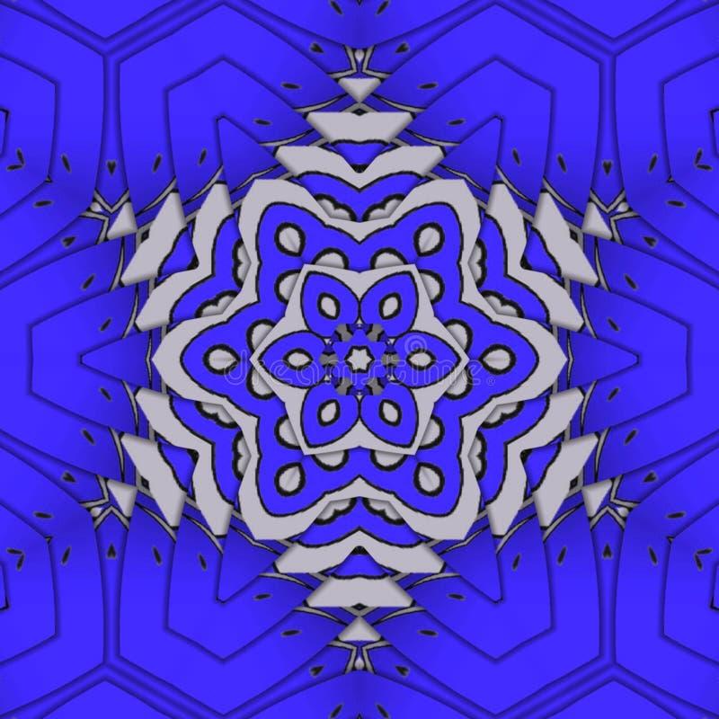 Blaue Hintergrundauslegung lizenzfreie abbildung