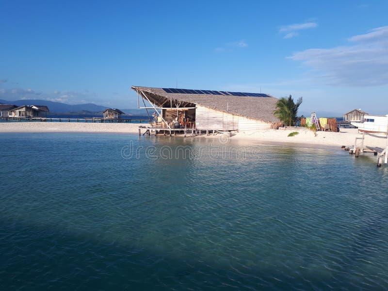 Blaue Insel stockfotos