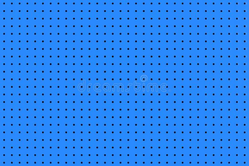 Blaue kleine Polka Dot Seamless Pattern Background Wiedergabe 3d vektor abbildung
