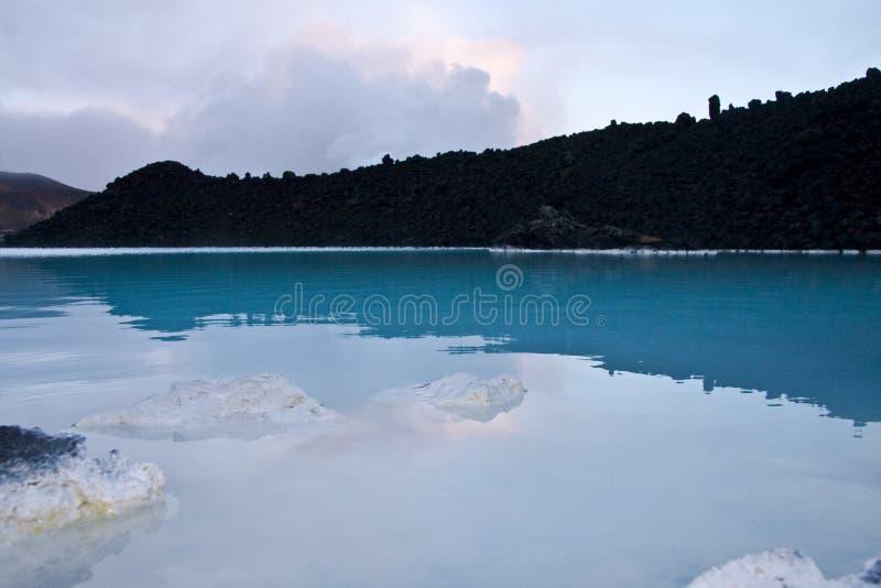 Blaue Lagune, Island lizenzfreies stockfoto