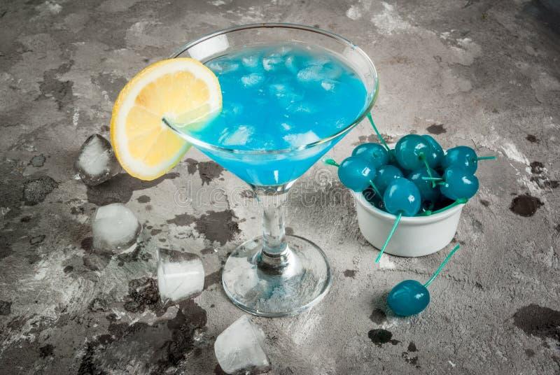 Blaue Lagune oder Blau Curaçao stockfotografie