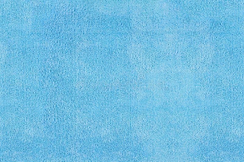 Blaue microfiber Beschaffenheit stockfoto