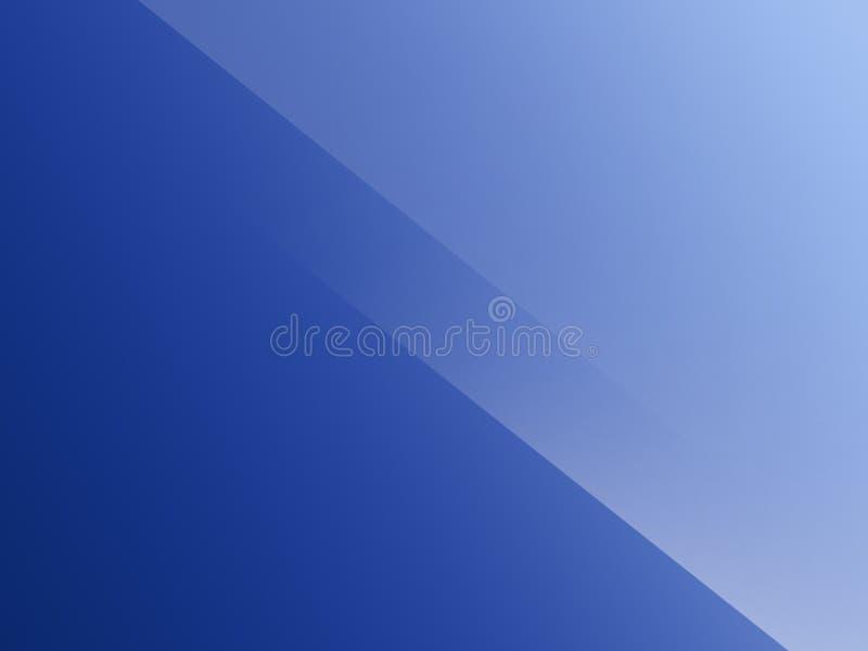 Blaue minimale elegante Zusammenfassungs-linearer Falten-Muster-Hintergrund stock abbildung