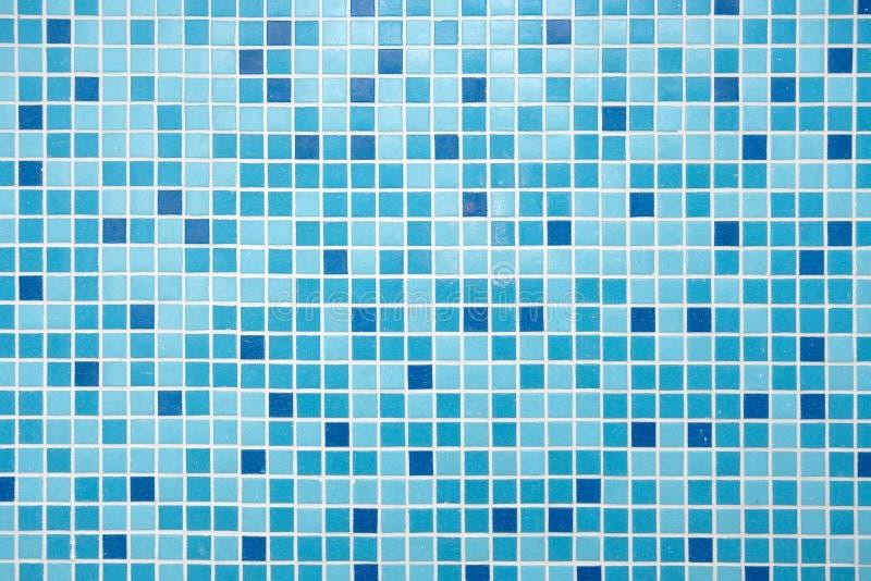 blaue mosaik fliesen stockbild bild von badezimmer quadrat 7580769. Black Bedroom Furniture Sets. Home Design Ideas