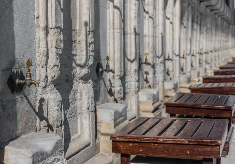 Blaue Moschee, alte Stadt Istanbul Die Türkei lizenzfreie stockfotografie