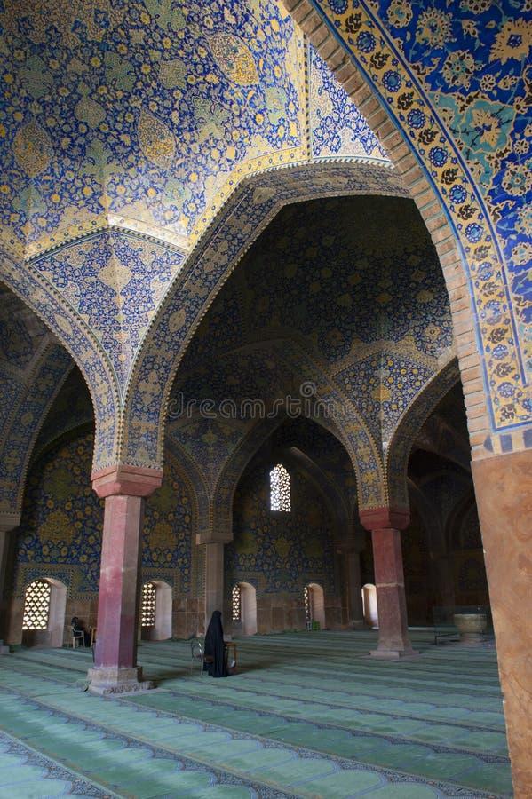 Blaue Moschee im Iran lizenzfreie stockbilder