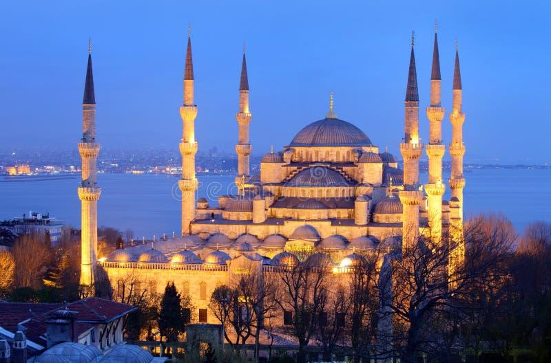 Blaue Moschee Istanbul stockbild