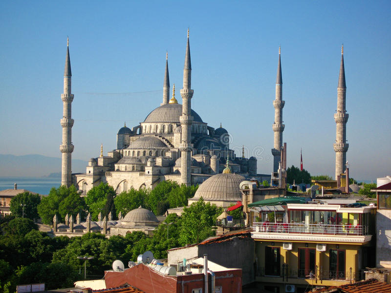 Blaue Moschee Istanbul lizenzfreies stockfoto