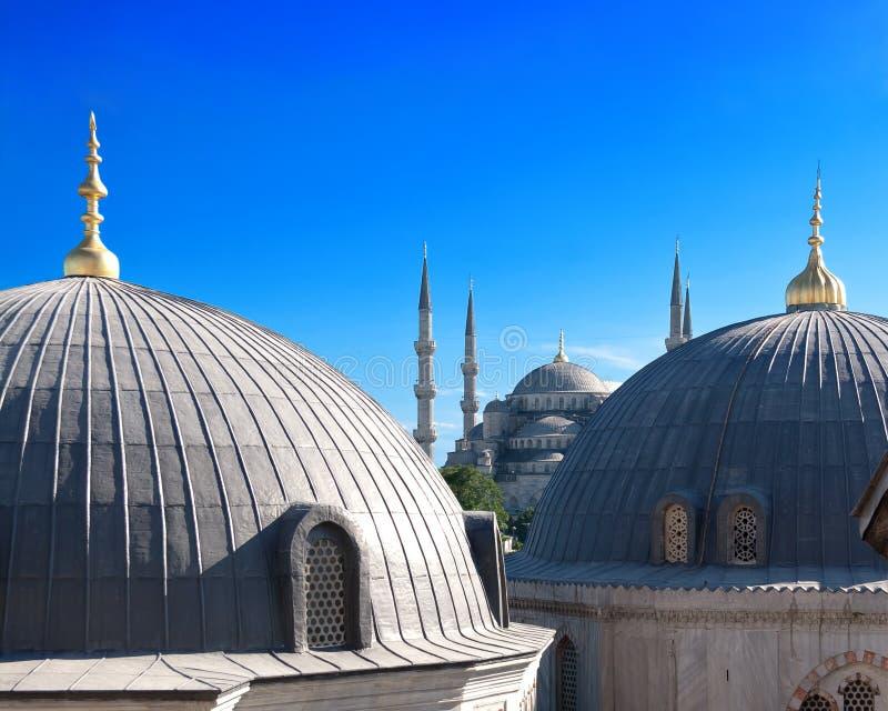 Blaue Moschee, Istanbul lizenzfreie stockfotografie