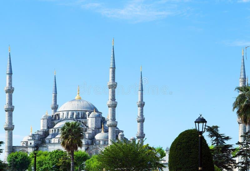 Blaue Moschee Sultanahmet lizenzfreie stockfotos