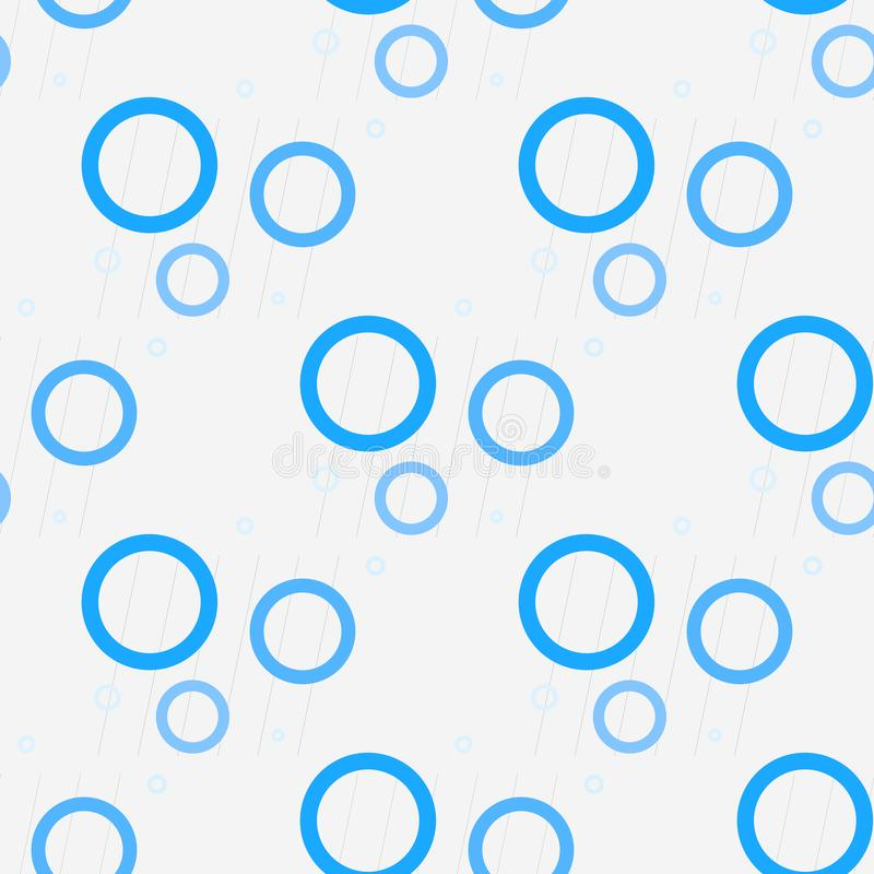 Blaue Punkte auf einem weißen Hintergrundmuster Abstrakter geometrischer moderner Hintergrund Auch im corel abgehobenen Betrag Ar vektor abbildung