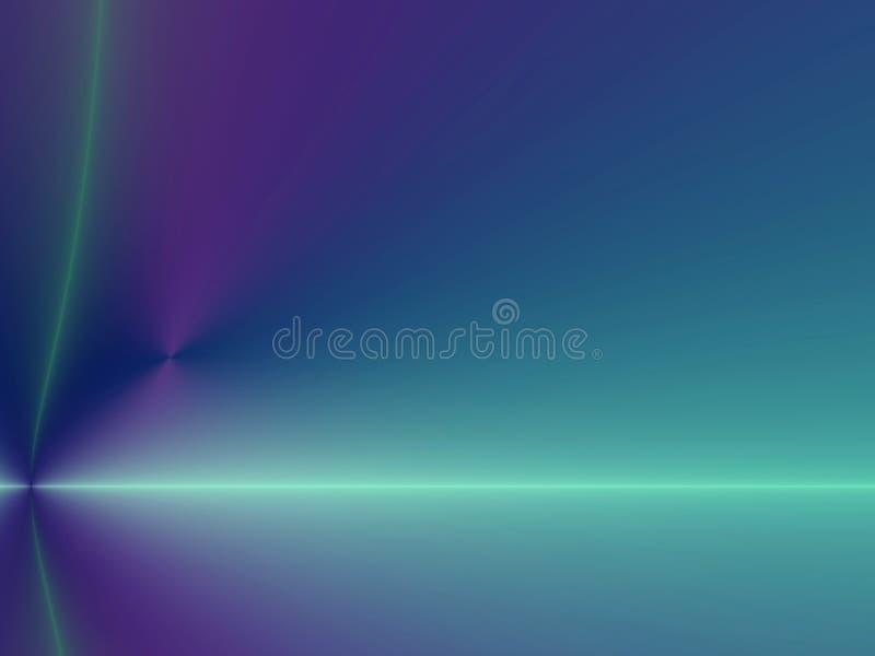 Blaue/purpurrote Neonauslegung/Hintergrund vektor abbildung