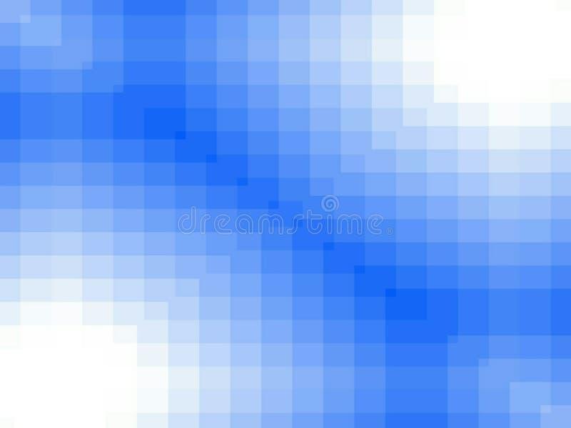 Blaue quadratische Hintergründe vektor abbildung