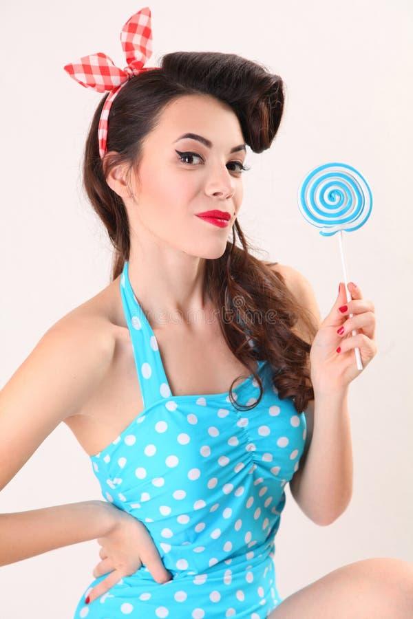 Blaue Süßigkeit lizenzfreie stockfotografie