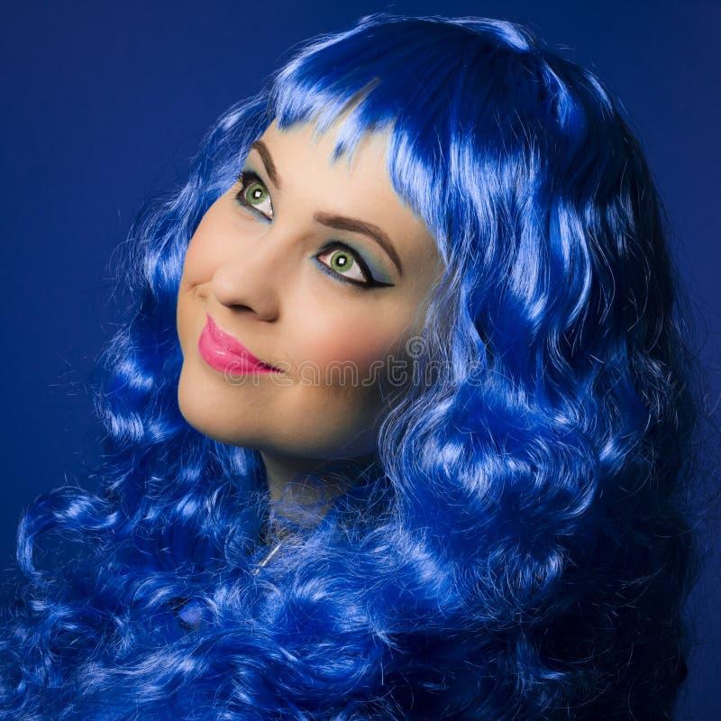 Blaue Schönheit stockfoto