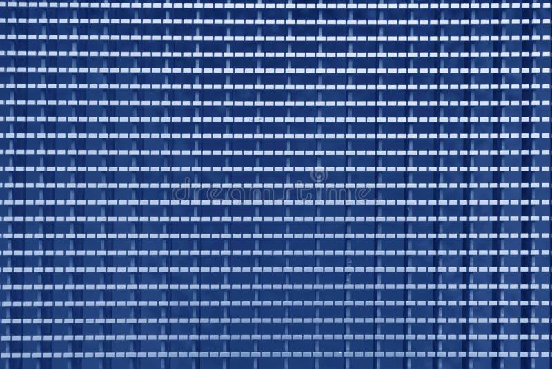 Blaue Stahlplatte stockbilder