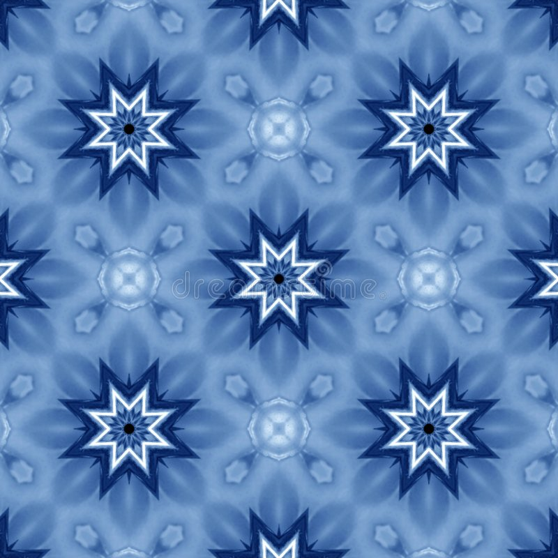 Blaue Sterne lizenzfreie abbildung