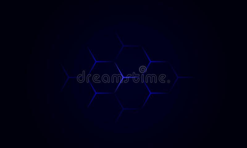 Blaue Sterne der Tapete lizenzfreie stockfotos