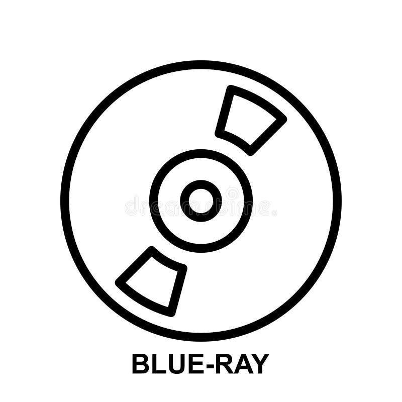 Blaue Strahlnikone vektor abbildung