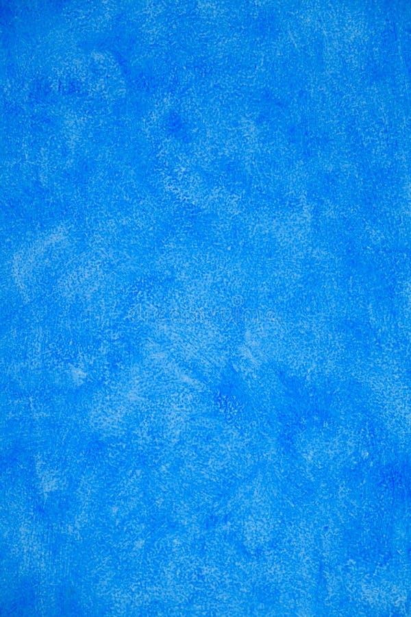 Blaue Stuck-Wand lizenzfreies stockbild