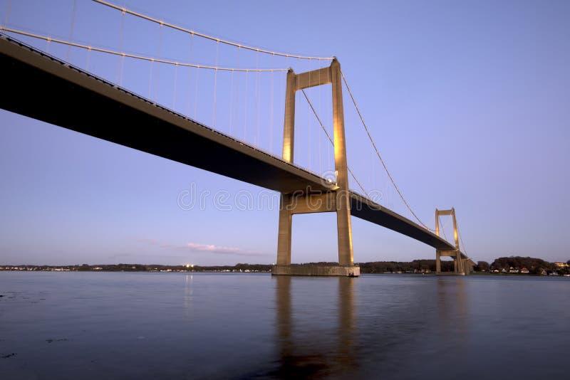 Blaue Stundenbrücke stockfotos