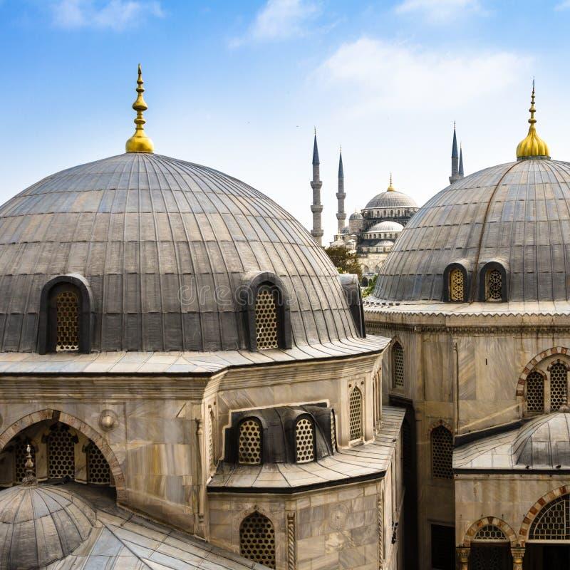 Blaue (Sultan Ahmed-) Moschee, Istanbul, die Türkei stockfoto
