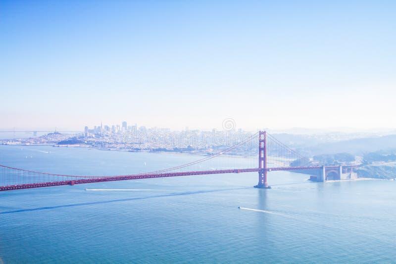Blaue Tage in San Francisco lizenzfreie stockfotos