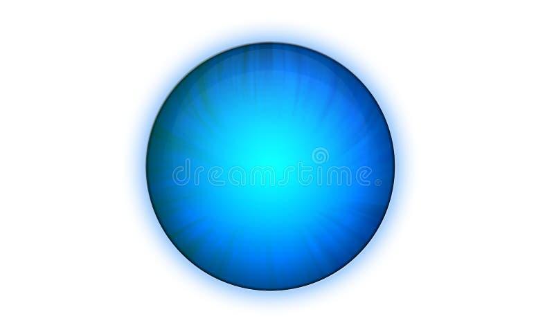 Blaue Taste stock abbildung